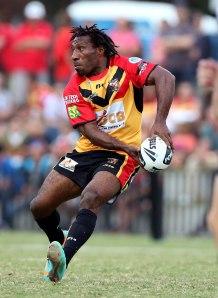 Papua New Guinea's Charlie Wabo. Image: Paul Seiser/swpix.com