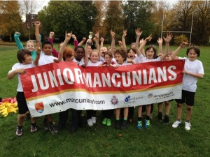 Some of our younger Junior Mancunians