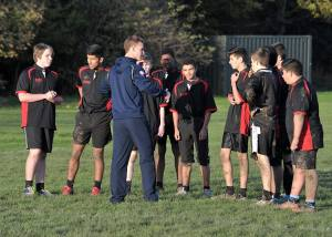Kangaroos star Cherry-Evans gives Rugby League advice to Junior Mancunians
