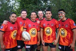 Guzman y Gomez Latin Heat Rugby League players