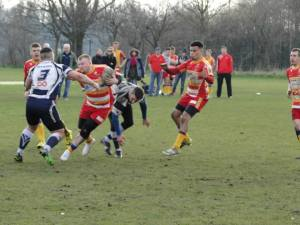 Stuart Stones on the attack for Mancunians RL