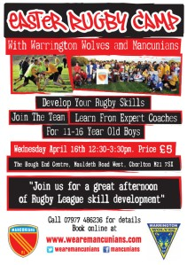 Mancunians Easter Rugby Camp