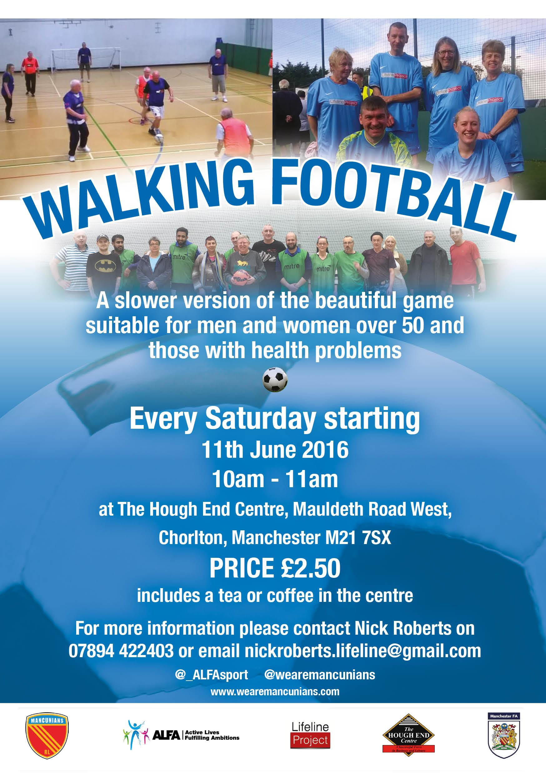 walking football